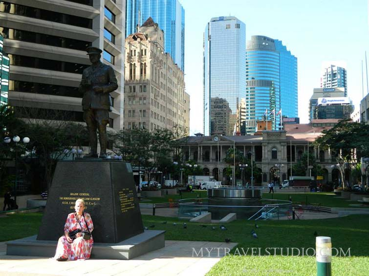 Australia Stela and monument
