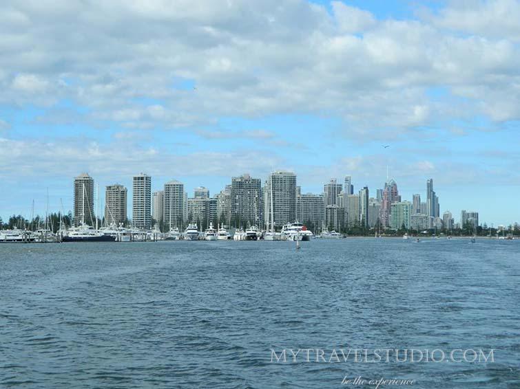 Australia on the boat