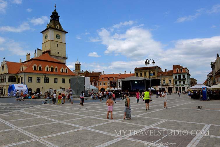 Brasov brasov square