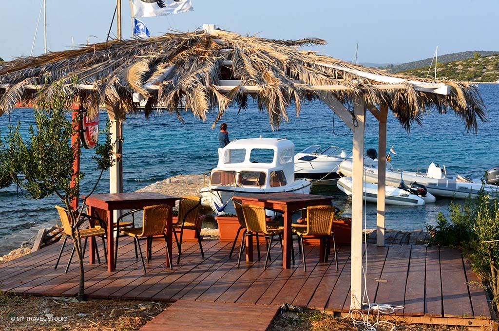 terrace on adriatic