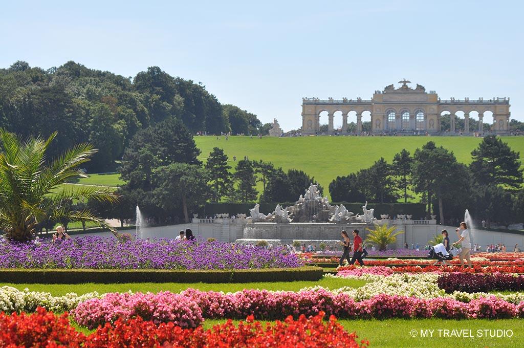 Schonbrunn garden, Vienna