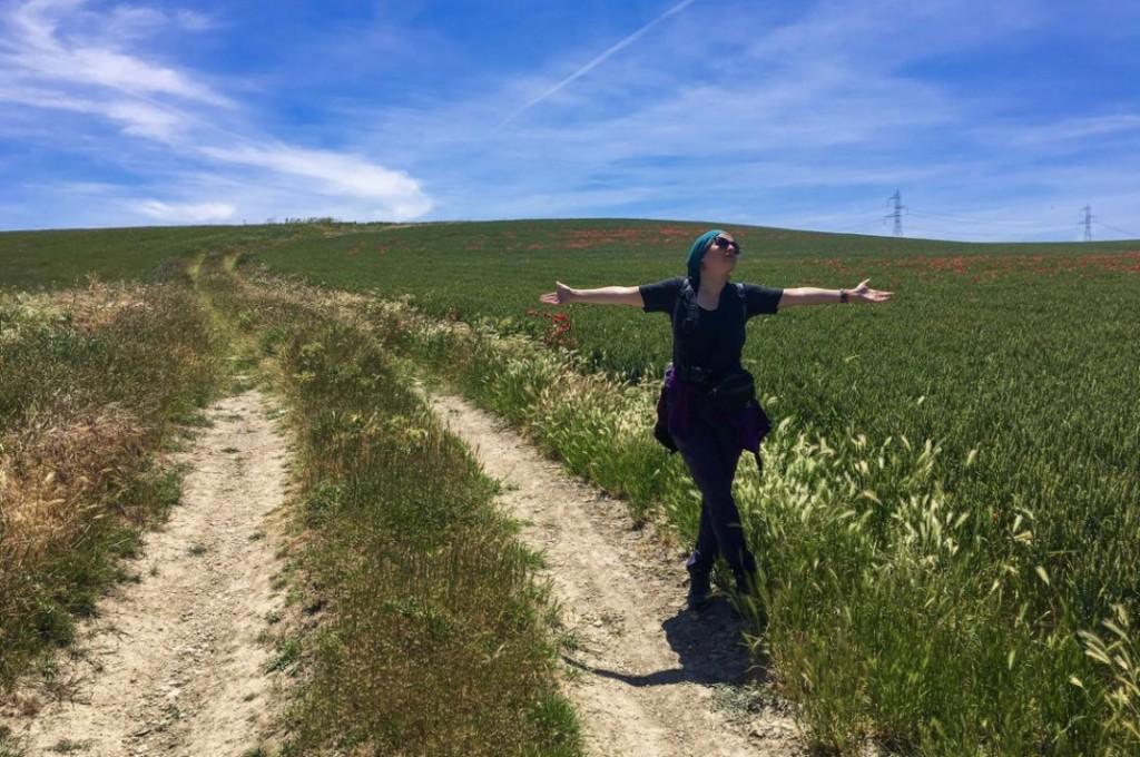 Camino pilgrimage Veronica.1jpg